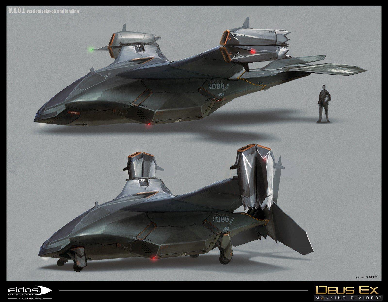 Deus Ex: Mankind Divided da a conocer parte de su arte conceptual