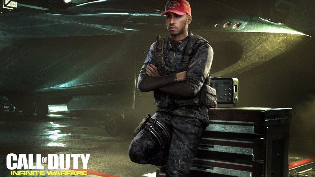 Call of Duty: Infinite Warfare contará con un cameo de Lewis Hamilton