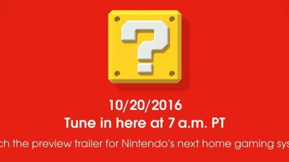 Nintendo NX se presentará hoy en un tráiler a las 16:00 horas