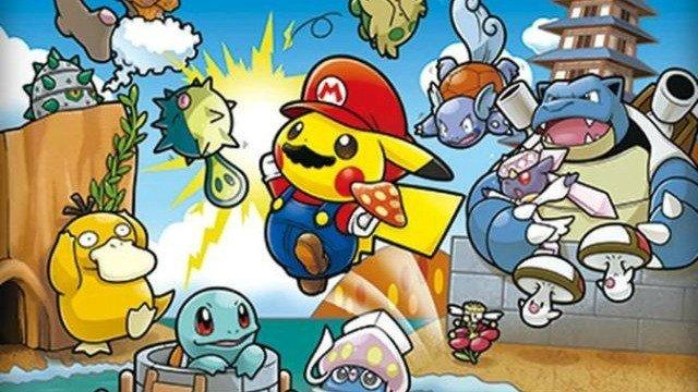Pokémon y Mario llevan a cabo un crossover en Japón