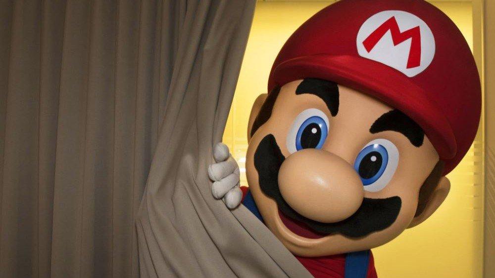 Mario aterroriza a Internet antes de la presentación de Nintendo Switch