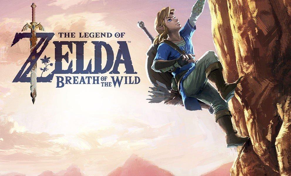 The Legend of Zelda: Breath of the Wild revela parte de su historia en el mapa de la edición especial