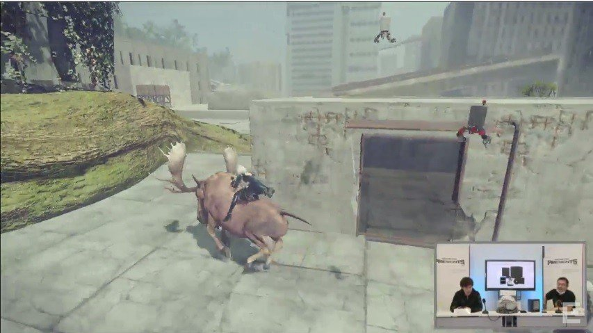 NieR: Automata presenta un nuevo gameplay de más de 30 minutos