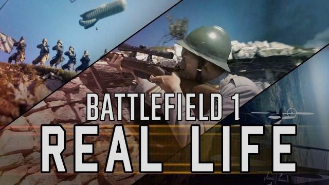 Battlefield 1 sería así en la vida real