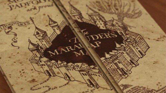 Harry Potter: Así se creó el Mapa del Merodeador