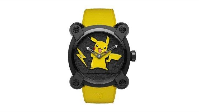 Pokémon: Es hora de ahorrar para este reloj de lujo de Pikachu