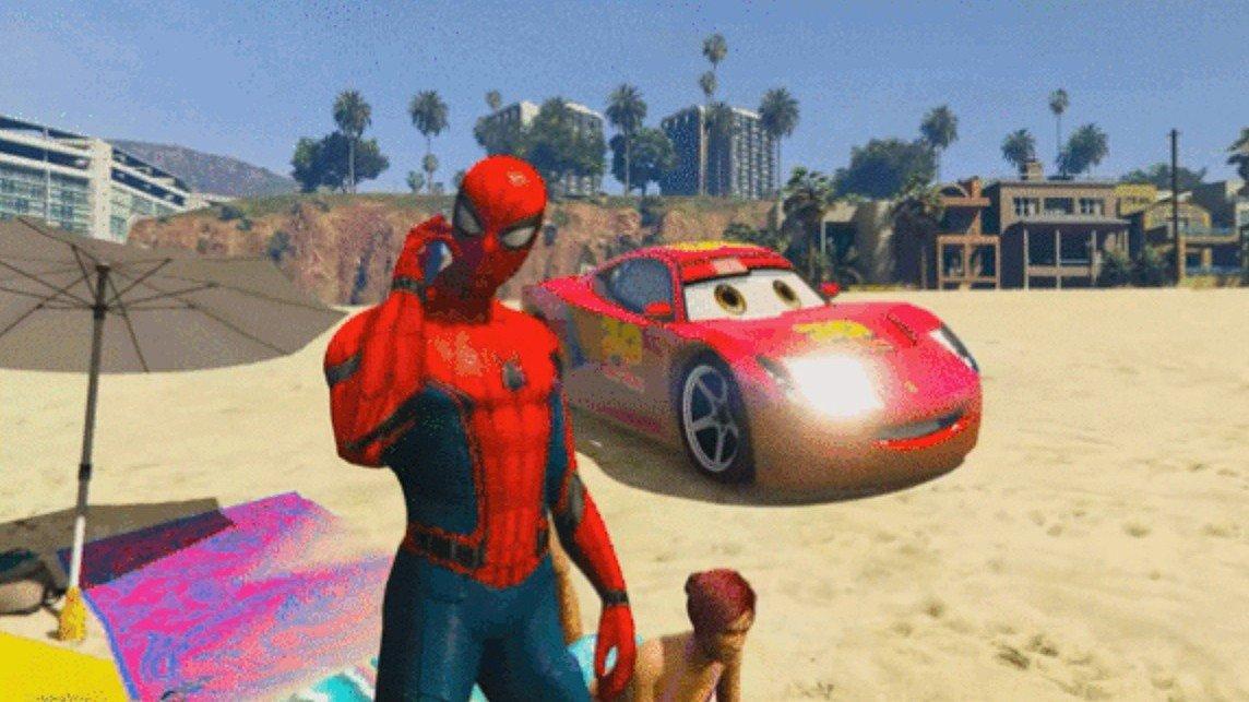 Grand Theft Auto V: Unos espectáculos infantiles creados con el juego arrasan en YouTube