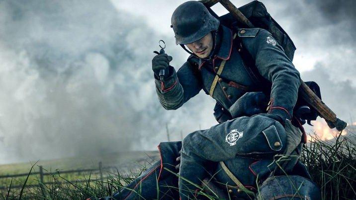 Battlefield 1: Un jugador se enfrenta a sus rivales con solo una jeringuilla