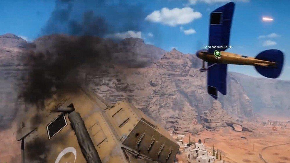 Battlefield 1: Sus tanques echan a volar con este bug
