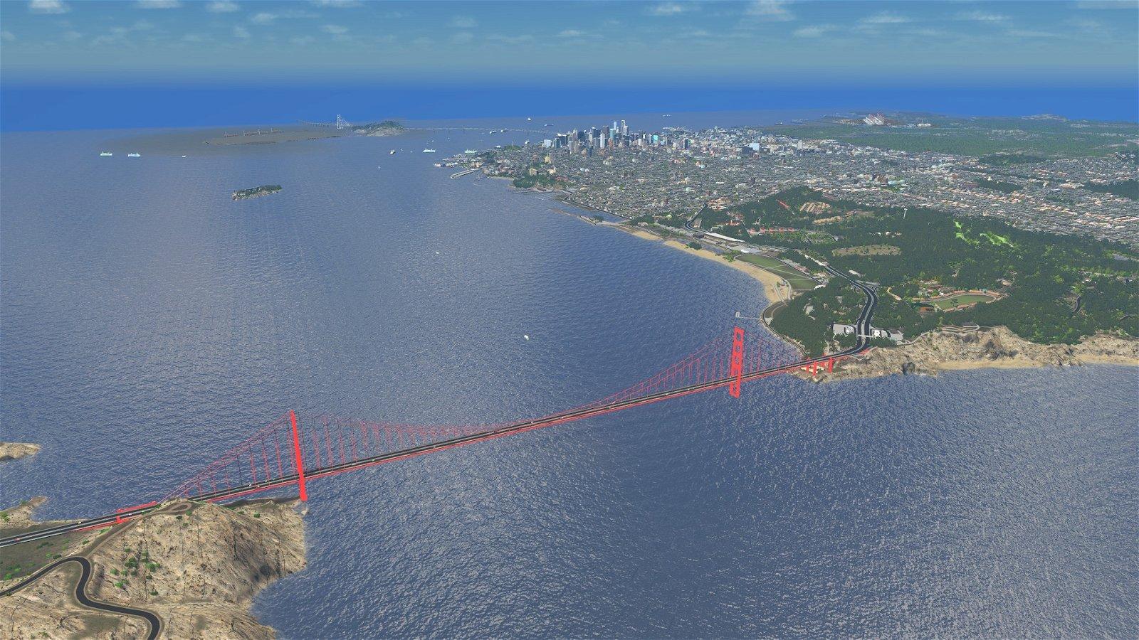 Cities Skylines: Un jugador recrea a la perfección la ciudad de San Francisco