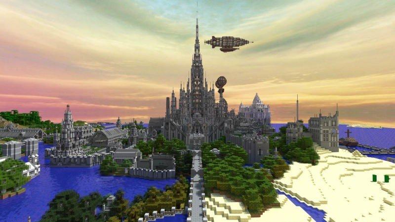 Minecraft: Un usuario invierte cinco años en construir un castillo obsesivamente detallado