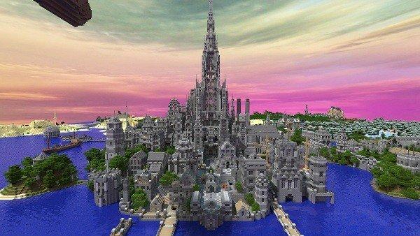 Minecraft cuenta con un castillo que precisó de cinco años de construcción