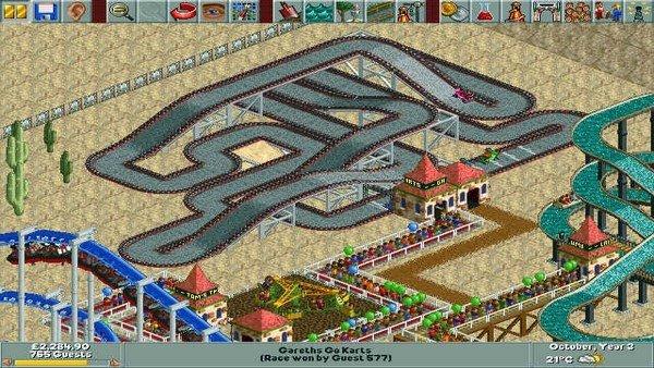 RollerCoaster Tycoon Classic llega a dispositivos móviles