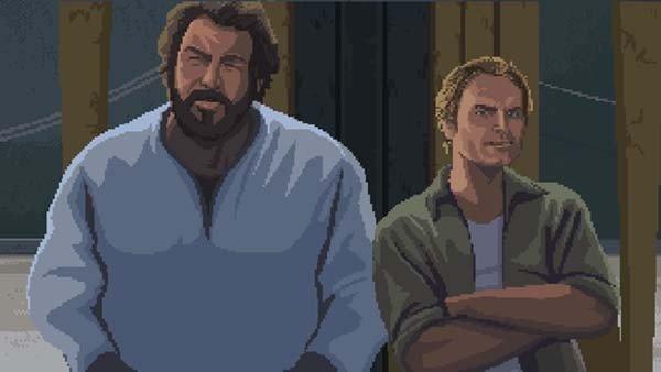 Slaps and Beans, el beat'em up 2D protagonizado por Bud Spencer y Terence Hill llega a Kickstarter