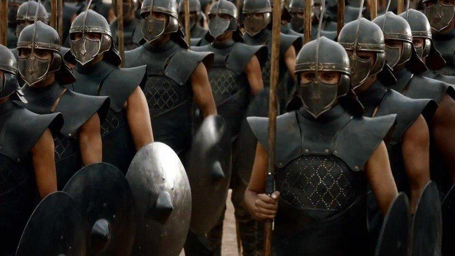 Juego de Tronos empleará militares para entrenar a algunos extras en España
