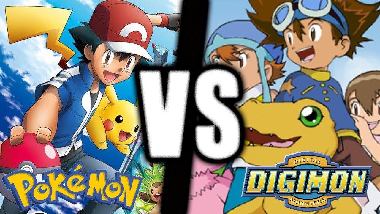 Pokémon vs Digimon: ¿Con cuál te quedas tú?