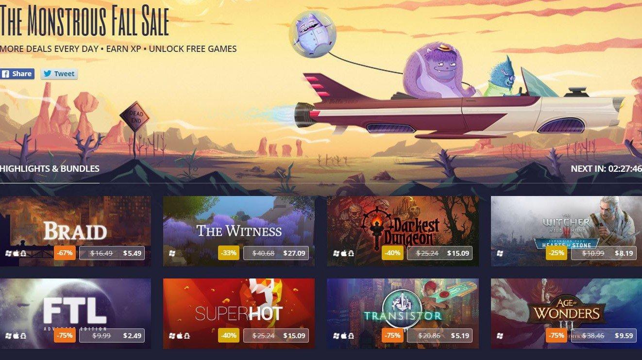 GOG inicia una nueva oleada de ofertas con juegos gratis