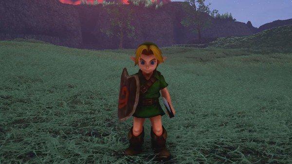 The Legend of Zelda: Ocarina of Time sería así con Unreal Engine 4