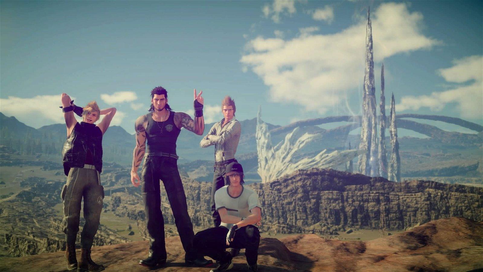 Final Fantasy XV espera alcanzar los 60 fps en PlayStation 4 Pro
