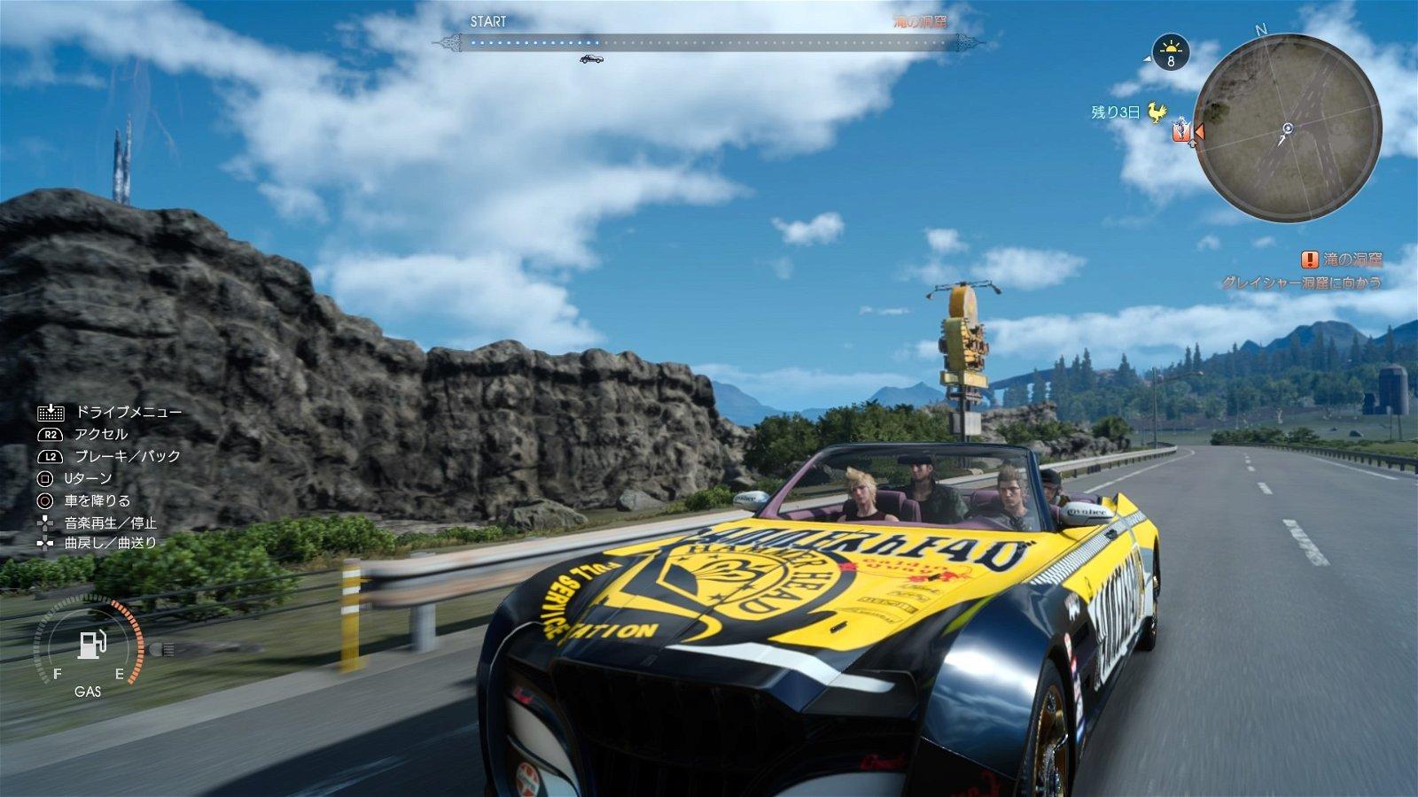 Final Fantasy XV se deja ver en nuevos gameplays e imágenes