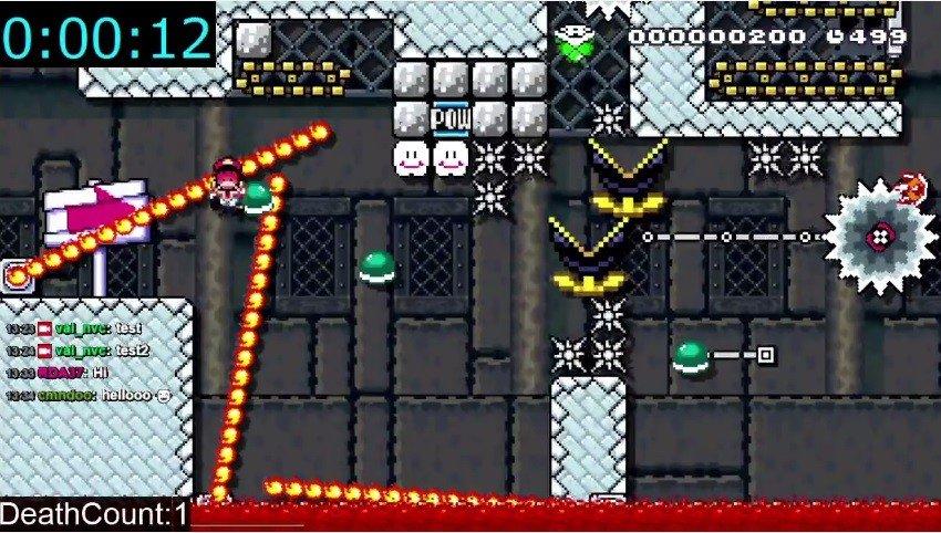 Super Mario Maker: A un usuario le lleva 60 horas superar un nivel