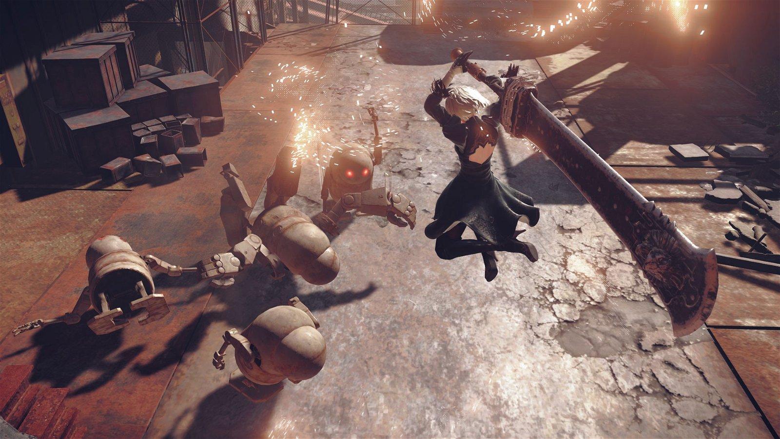 NieR: Automata aprovechará PlayStation 4 Pro y podría llegar a Xbox One