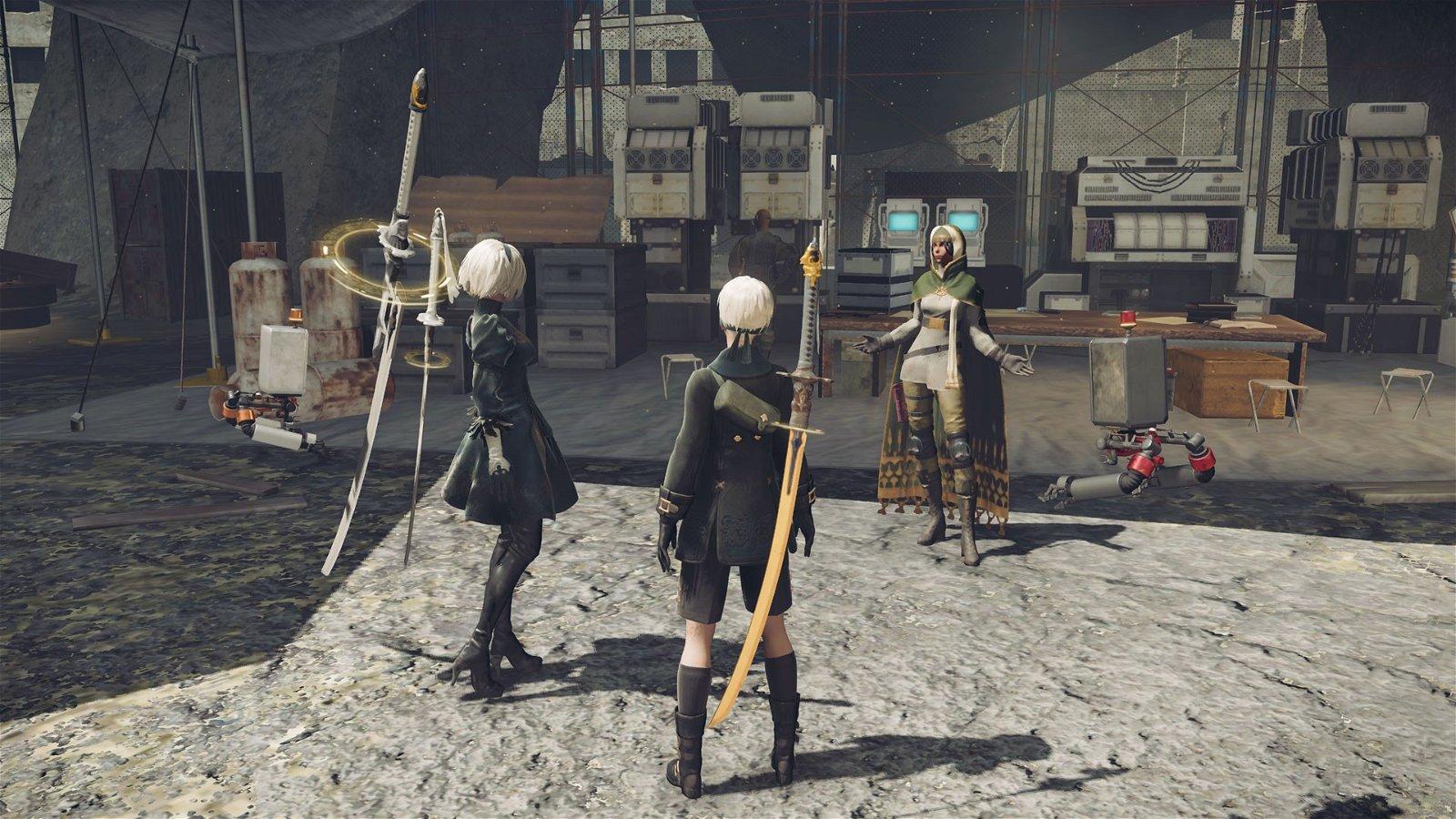 NieR: Automata rescatará armas de Final Fantasy y Dragon Quest