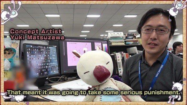 Final Fantasy XV revela el proceso de creación de los moguritos en su diario de desarrollo