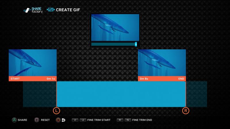 PlayStation 4 ya permite crear y compartir GIFs