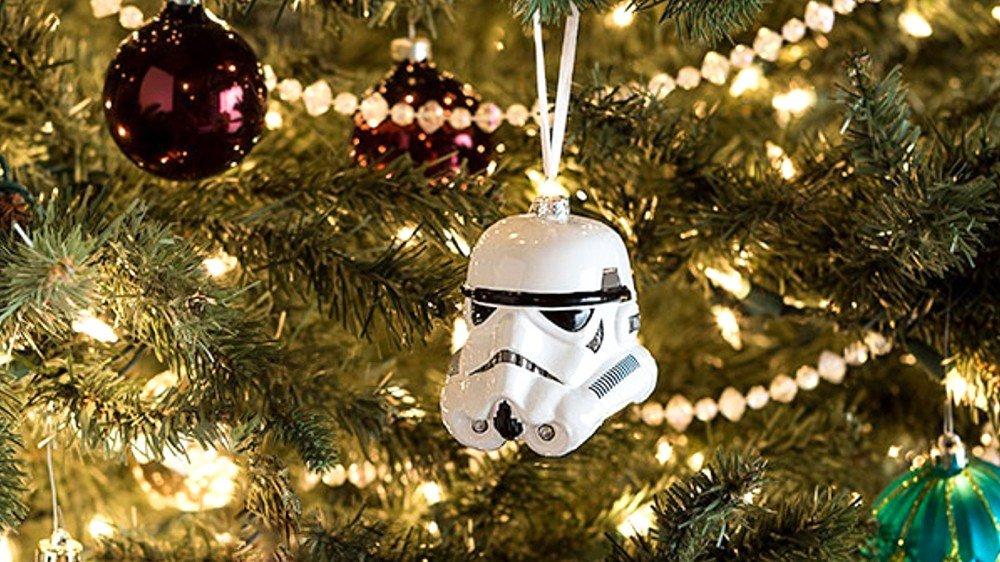 Star Wars inspira estos adornos navideños para los fans