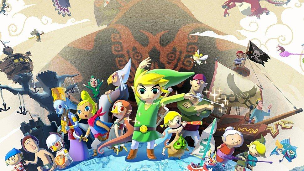 The Legend of Zelda protagoniza esta gigantesca composición con fichas de dominó