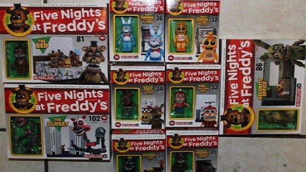 Five Nights at Freddy's lanza su línea de juguetes