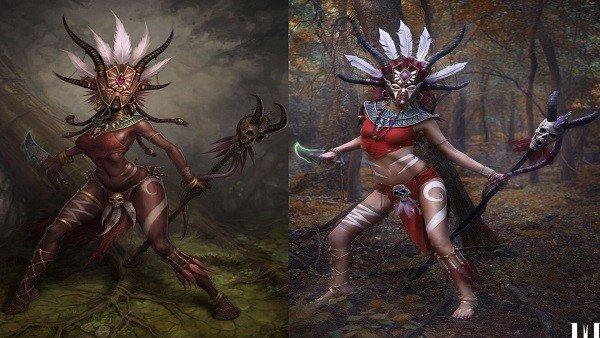Diablo 3 tiene este increíble cosplay del médico brujo