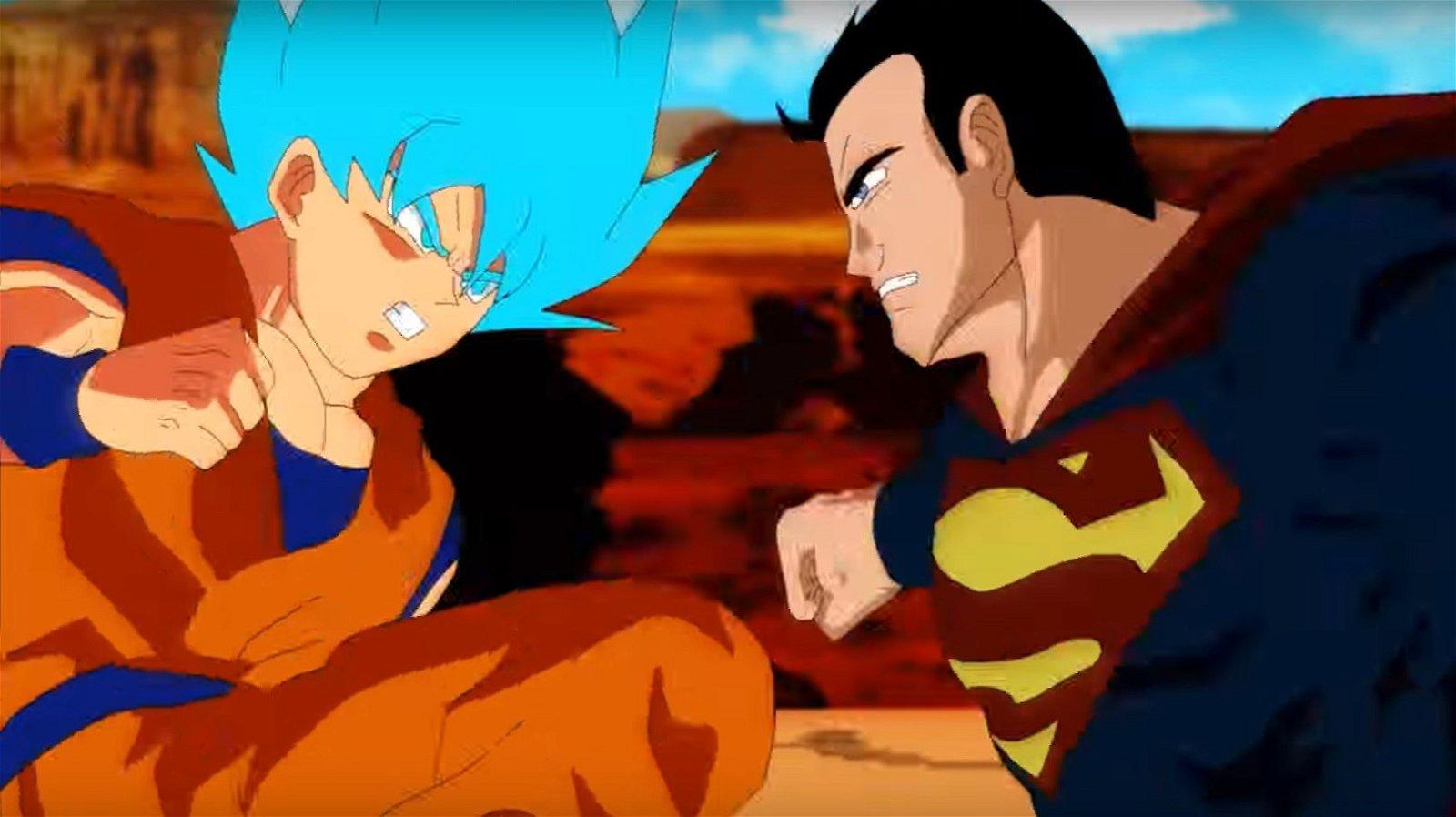 Dragon Ball y Superman se fusionan en este increíble cortometraje animado