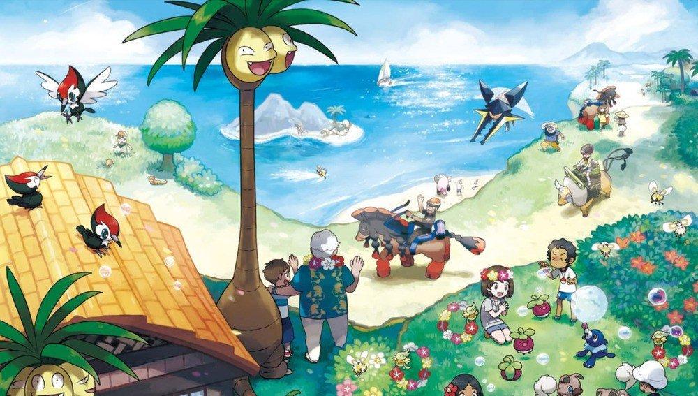 Nintendo ha comenzado a banear a aquellos que tengan una versión pirata de Pokémon Sol/Luna