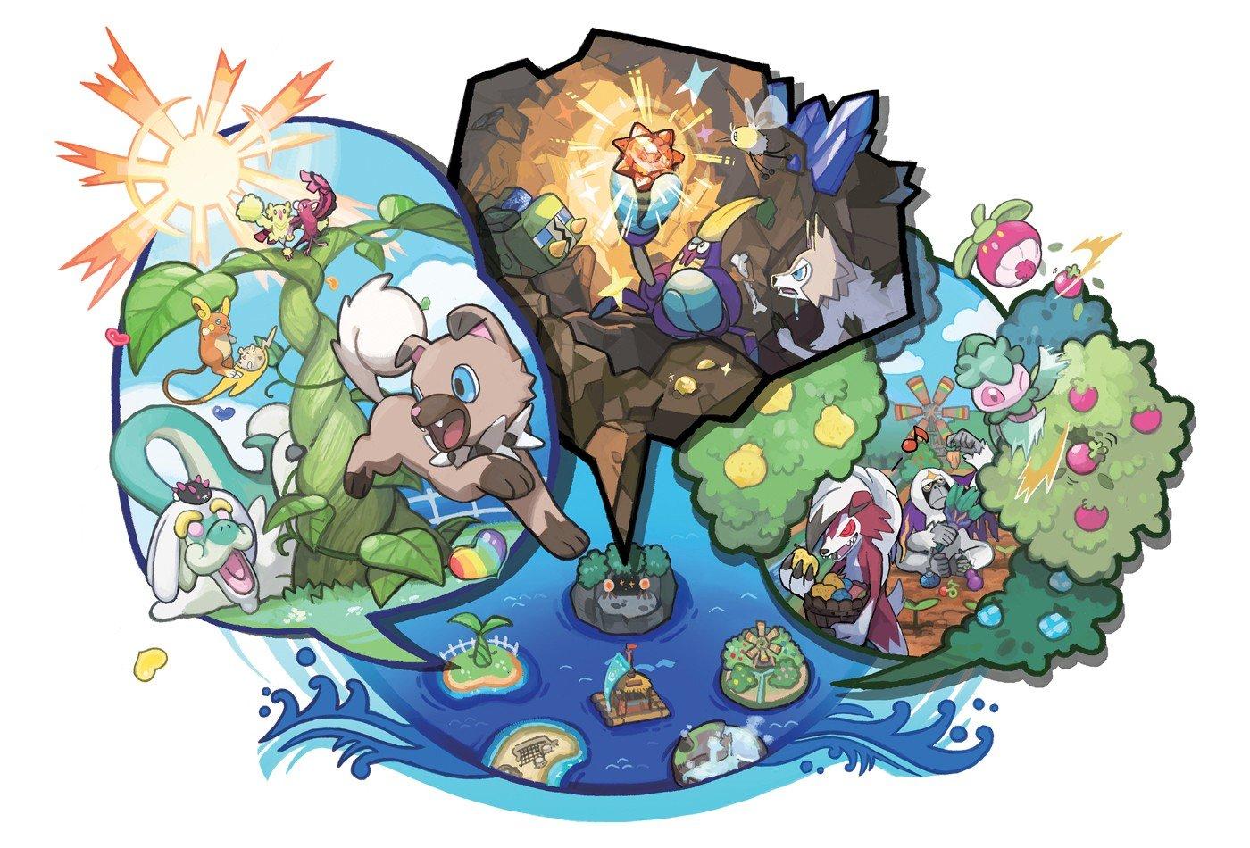Pokémon Sol/Luna no tendrá Pokédex Nacional