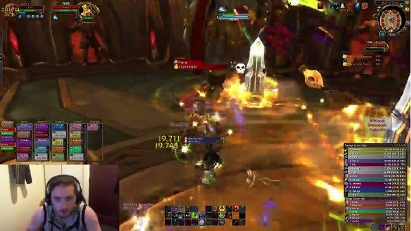World of Warcraft: Ni un terremoto detuvo la partida de este jugador