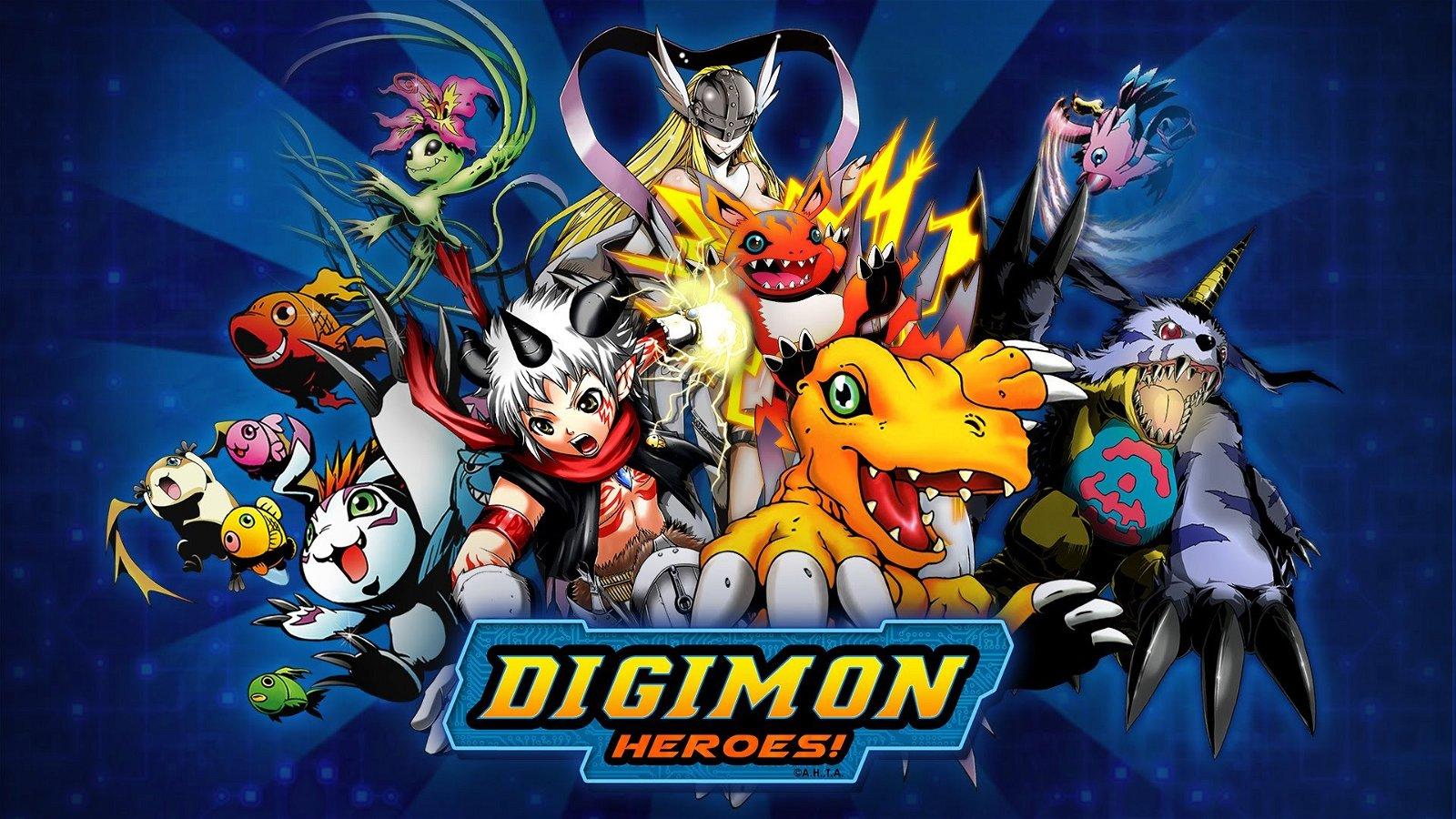 Digimon Heroes, gratuito para iOS y Android, recibe una nueva actualización