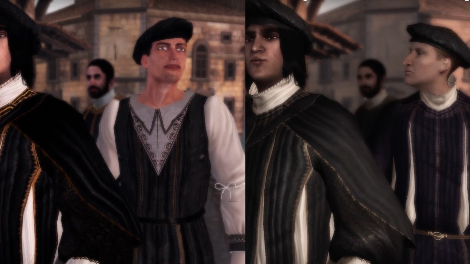 Assassin's Creed 2 remasterizado tiene un NPC que se ha convertido en el nuevo meme de Internet