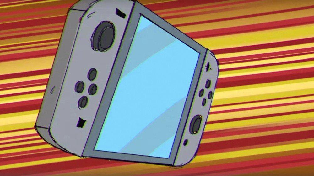 Nintendo Switch protagoniza un anime en el que se enfrenta a Sony y Microsoft