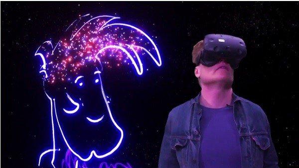 Conan O'Brien prueba la realidad virtual con épicos resultados