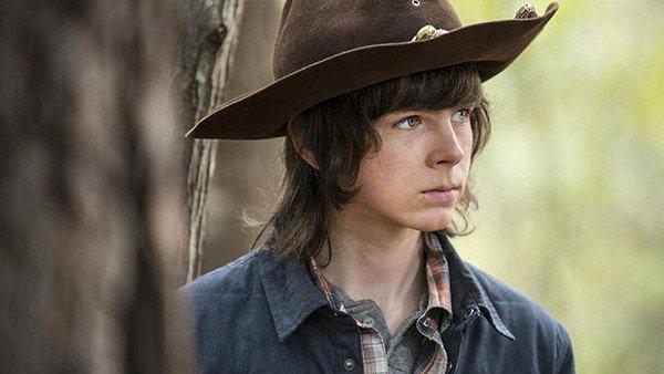 The Walking Dead: Chandler Riggs podría haber cometido un error en el último episodio