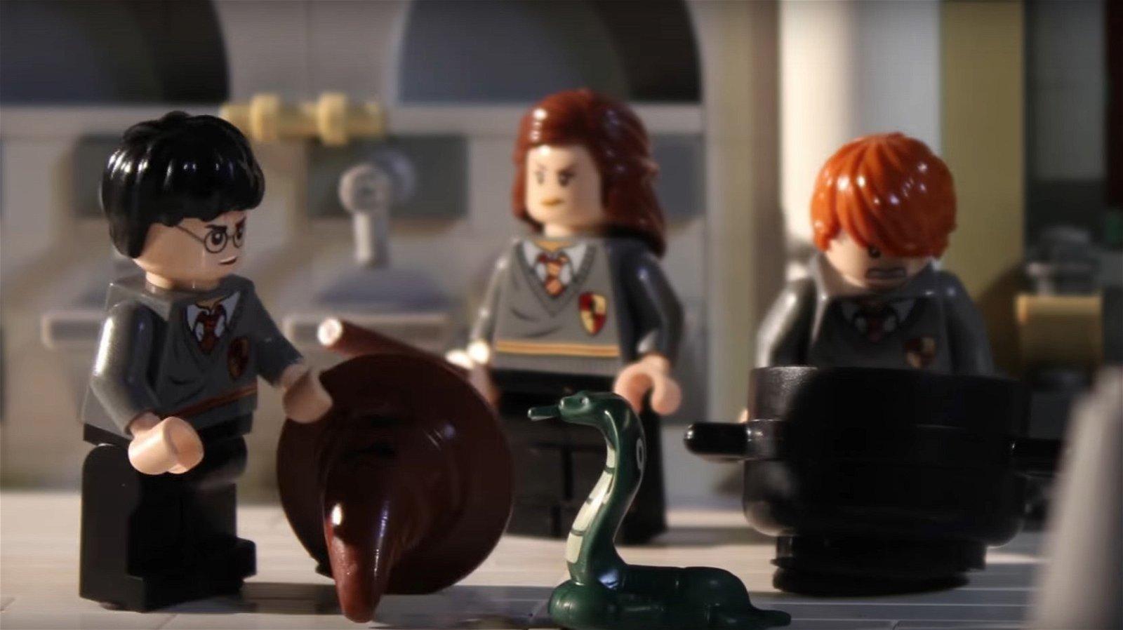 Harry Potter en 90 segundos y en formato LEGO