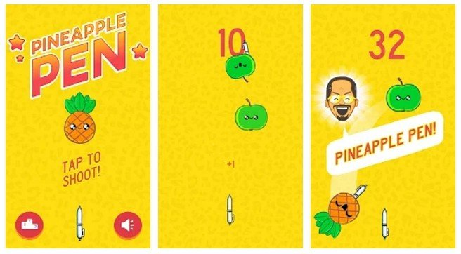 El Pen Pineapple Apple Pen se convierte en un juego para móviles