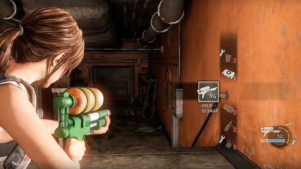 The Last of Us: Un modder acaba con los infectados con una pistola de agua