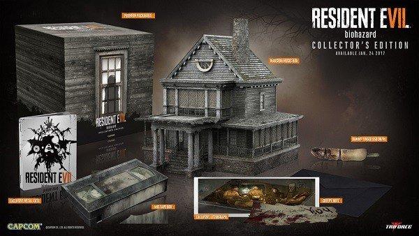 Resident Evil 7 desvela una nueva edición coleccionista del juego
