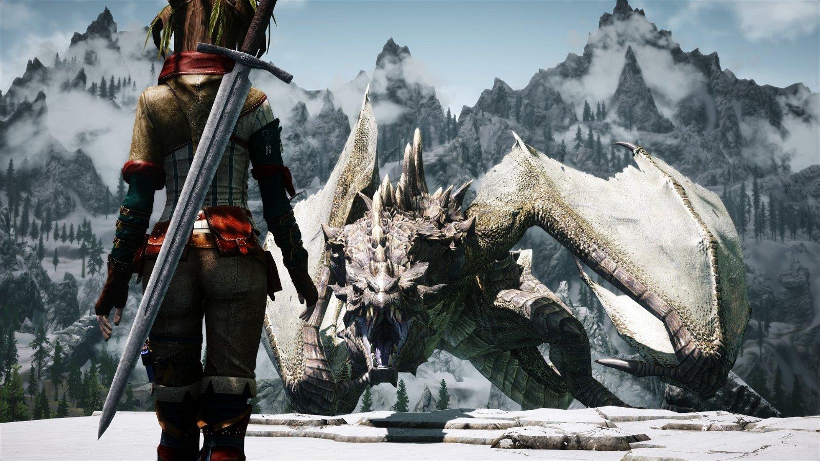 Videojuegos en los que disfrutar de dragones y guerreras