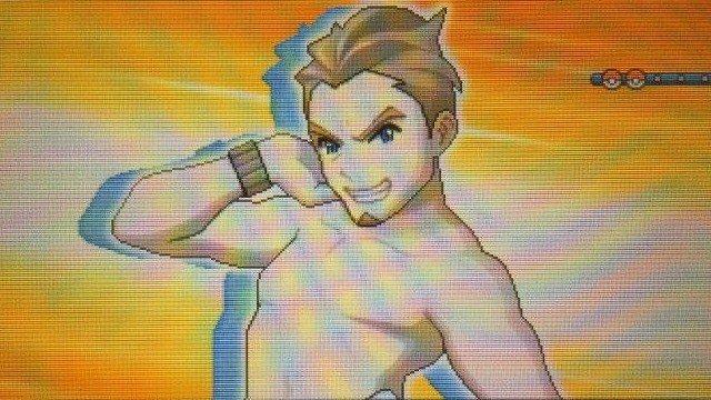 Pokémon Sol/Luna: El nadador al fin ha conseguido resultados con su ejercicio