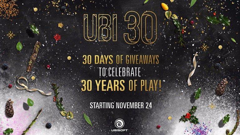 Ubisoft ofrece juegos y complementos gratis al día durante 30 días