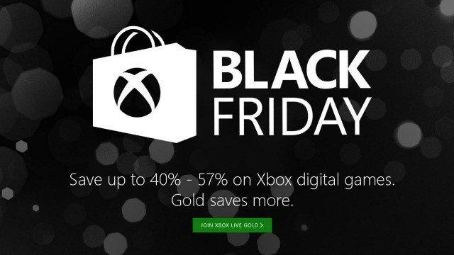 Xbox Live amplía sus ofertas del Black Friday